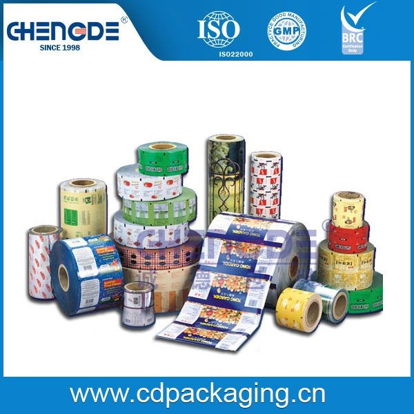 Plastic packaging rewind products